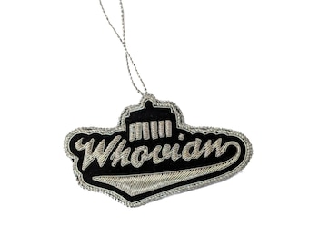 PresentProducts Handmade Christmas Ornament Gift- I am Whovian
