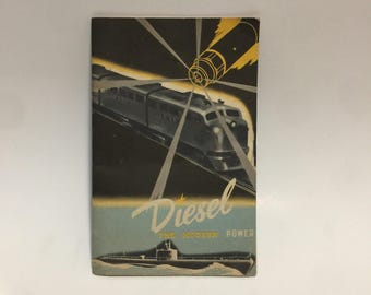 General Motors 1950 Diesel The Modern Power Information Booklet