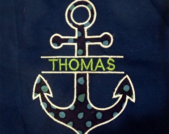 Anchor applique and embroidery designs in 11 different sizes/styles.  Every anchor design you ever need.