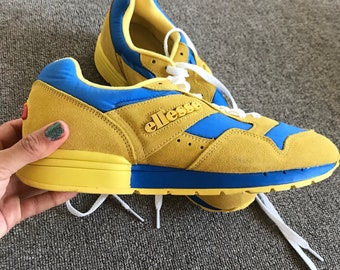 Yellow Mustard Ellesse Heritage marathon 84 Sneakers Runners