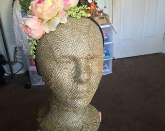 summer rose headband