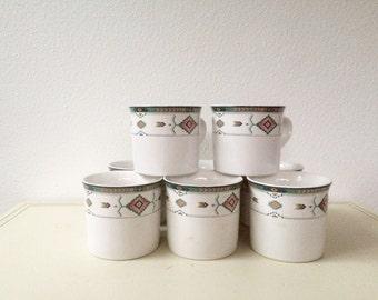 vintage Adirondack mugs