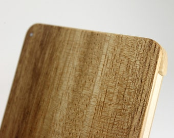 Wood Business Card Holder (Monkeypod)