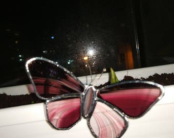 Stained-glass butterfly