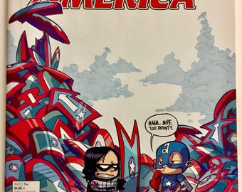 Captain America Steve Rogers #1 Scottie Young Variant Cover Hot - Marvel Comics Free shipping