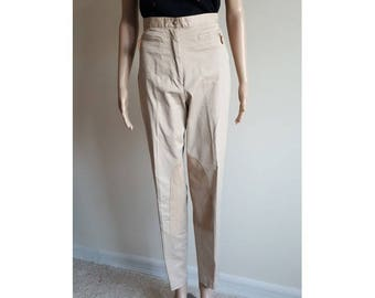 Tommy Hilfiger Equestrian Pants • Vintage High Waist Riding Pants • Womens Size 14 • 33 Waist