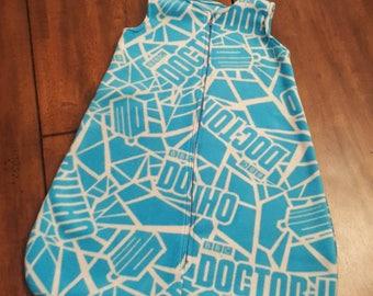 Dr. Who - BBC - Blue - Baby Bunting - Sleep Sack