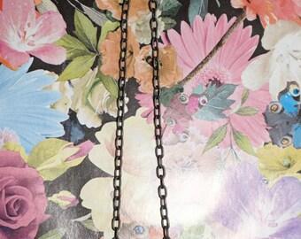 Pretty Flower Gemstone Necklace Boho necklace hippy festival jewellery