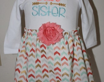 Baby Sister,Big Brother, Biggest Brother,Sibling outfits,Sibling shirts,Coming home gown,Take me home,Photo Props,New baby gift,baby shower