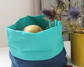 Bread / Fruits Linen Basket