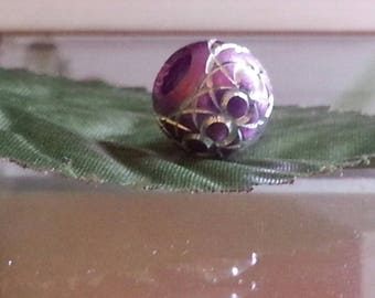 Beads European aluminum embraced metal beads 10mm large hole 5mm