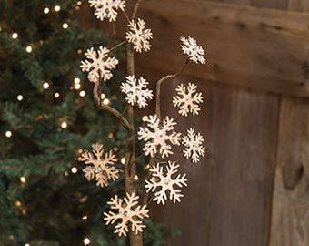 antityVintage Snowflake Spray
