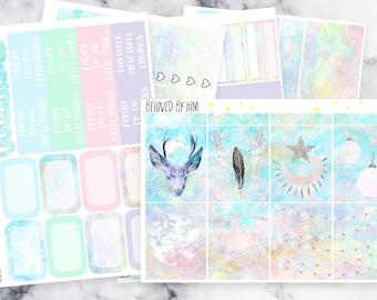 LAST CHANCE! Full and Deluxe Winter Dream - Planner Sticker Kit