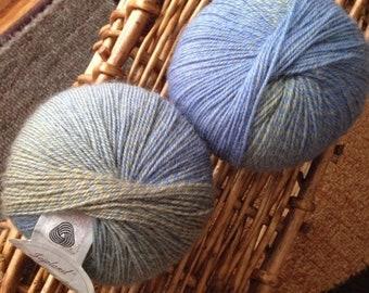 Destash - NEW Jojoland Melody lot of 2 100% wool fingering weight in color 25Y 50gr/220 yds each