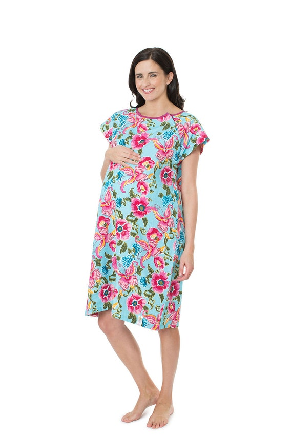 Isabelle Labor Delivery Maternity Hospital Gown Baby Be Mine