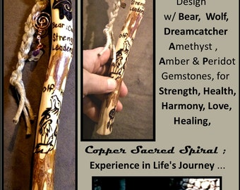 Talking sticks - office gift - Communication - group talking - hiking stick,wood anniversary gift,retirement gift,recognition gift