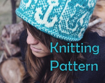 Mermaid Hat - KNITTING PATTERN