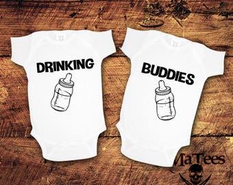 Drinking Buddies Crawler, Drinking Buddies, Drinking Buddies Shirt, Drinking Buddies Twins, Drinking Buddies Tshirt, Drinking Buddies, Twins