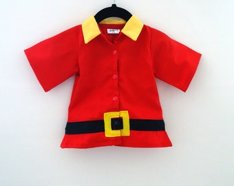Gaston Top for Toddler - Beauty and The Beast Costume - Halloween - Cruise Night - toddler Costume - Birthday Costume - Boy Costume - Gaston
