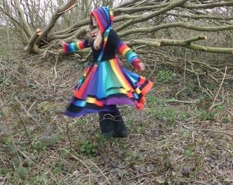 Custom Fairy Coat Recycled Sweaters