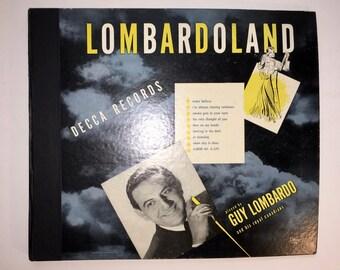 """Guy Lombardo 78 Records """"Lombardo Land"""" Fox Trots"""