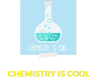 Chemistry Art, Chemistry Gift, Chemistry is Cool, Teacher Printable, Science Art, Science Nursery, Scientific Art, Classroom Decor Teacher
