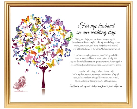 Gift Ideas For Husband On Wedding Day: Gift For Groom Wedding Day Gift For Husband Personalized
