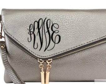 Monogram Crossbody Purse - Monogram Purse - Crossbody Handbag - Monogrammed Gift - Cross Body Purse - Personalized Purse