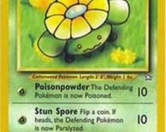 Skiploom pokemon inside glycerin bar of soap