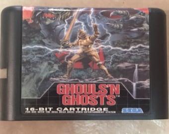 Ghouls 'N Ghosts Fan Made Custom Sega Genesis Game. 16bit