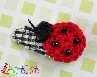 Hair clip Ladybug