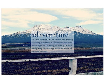 Adventure Definition Poster