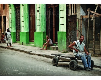 Cuba 15, Fine Art Print Black & White or Color A3/A4/A5 Size