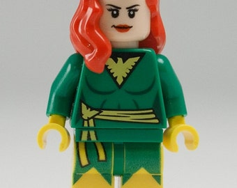 PHOENIX Custom Minifigure 100% Lego Compatible! Marvel Comics X-Men Character
