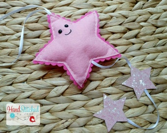 Sparkle Falling Star Decoration