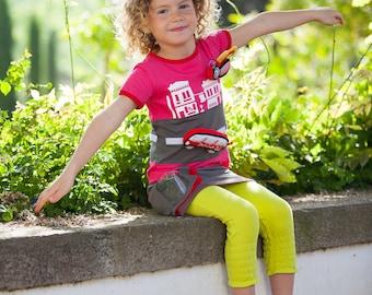 BEEETÚ Tough T-shirt Italian adventure with Bus toy