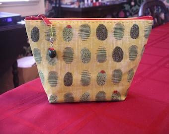 Green Olive Make-Up Bag