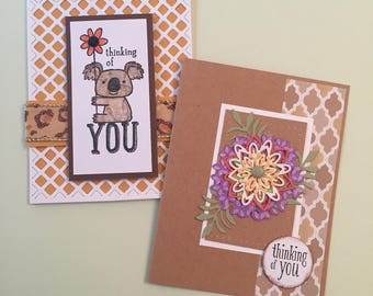 Set of 8 Friendship Cards- Free Shipping!