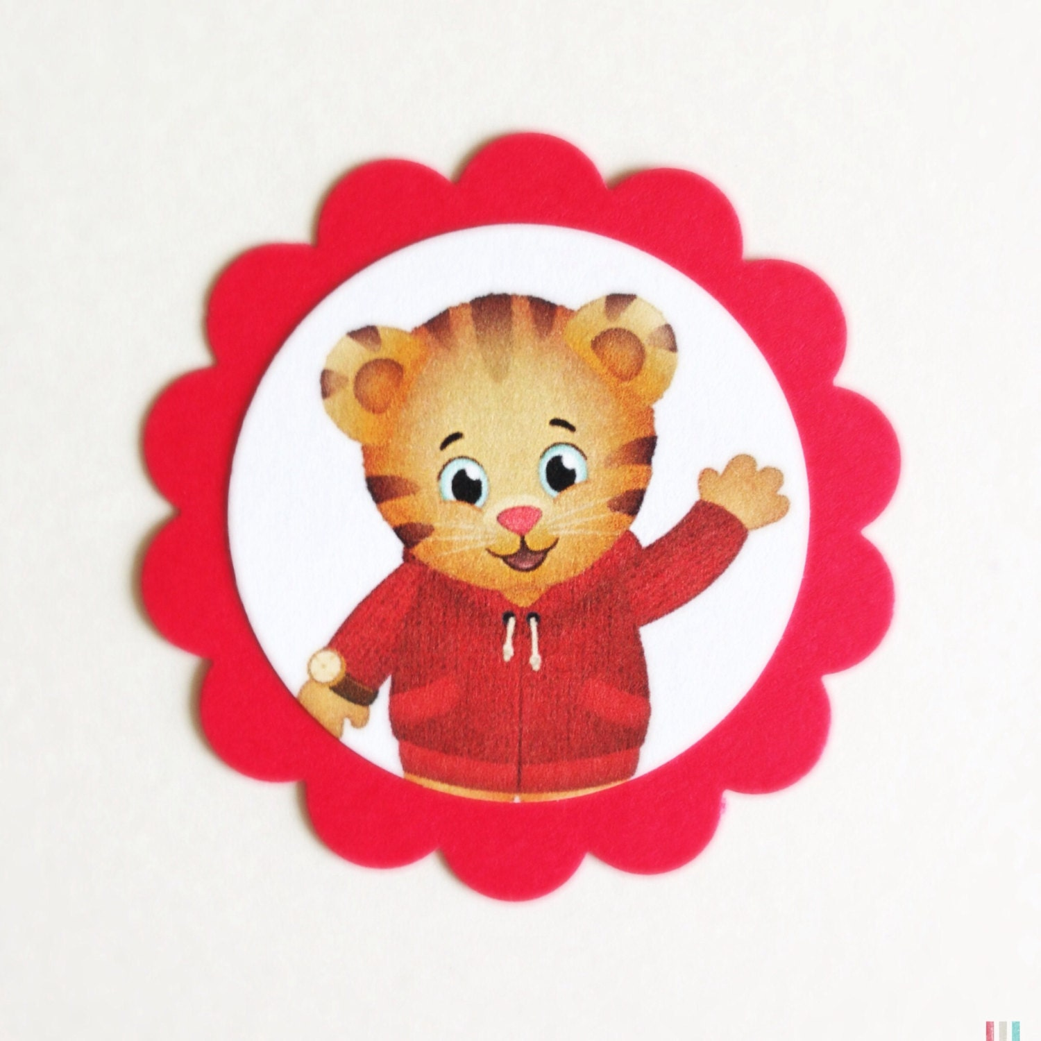 DANIEL TIGER NEIGHBORHOOD Gift Tags/Cupcake Toppers 10ct