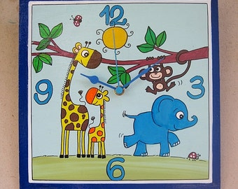 The Jungle Wall Clock