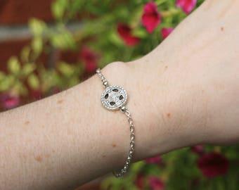 Celtic bracelet | Silver bracelet | Celtic gift | Celtic knot bracelet