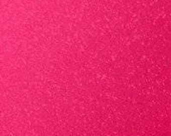 "12x12"" Hot Pink Transparent Glitter Adhesive Vinyl Permanent Outdoor Vinyl Oracal 951, Oracal 651 Equivalent, Pink Transparent Glitter Vinyl"
