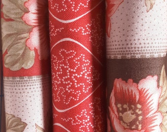 Grace by 3 sisters for Moda, fat quarters
