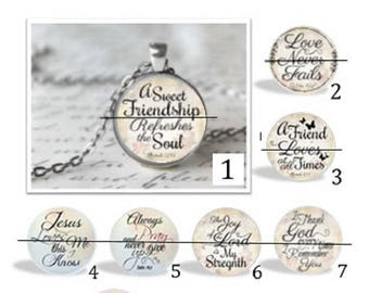 O' SNAP!!  Faith & Friends Switchable Charm Necklace or Keychain