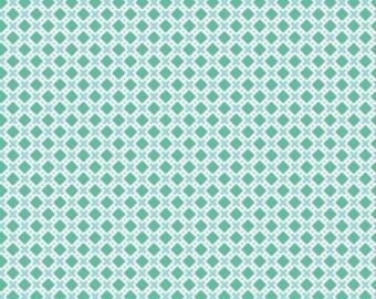 Green Lori Holt Fabric Green Modern Minis Fabric X Fabric Riley Blake Modern Minis Quilting Fabric  - By The 1/2 Yard