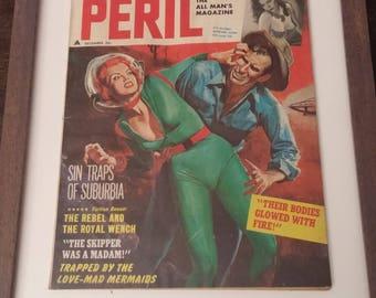 Peril - December 1961 - Pulp Magazine - Science Fiction