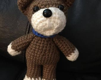 crochet puppy toy