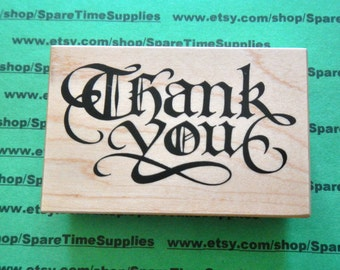 Thank You - Mounted Rubber Stamp - 1 pc - #PSX-G1836