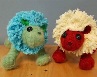 Handmade Lion Toy