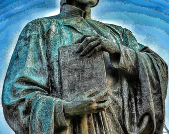 Dante Alighieri Statue Photo